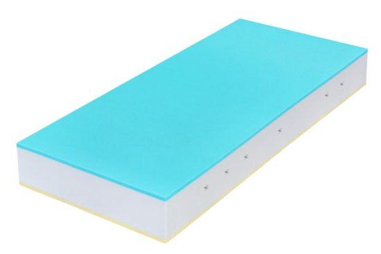 Volitelná výška matrace 22 nebo 26 cm vám dává možnost zvolit to, čemu dáte přednost. Dvojdílný prošívaný antibakteriální potah