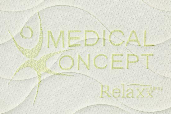 potah Medical Conceptobsahuje přírodní vlákna Lyocell®Tencel®,