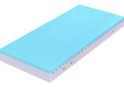 Super pružná a odolná ortopedická matrace bez lepidel