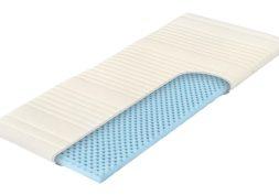 Přistýlka Slumberland Topper Flexi. Vrchní (krycí) matrace z pružné pěny Flexifoam® vyšší střední tuhosti v pratelném potahu s gumovými pásky