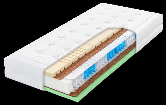 ARABELA HARD - tužší pružinová ortopedická matrace s hybridní pěnou