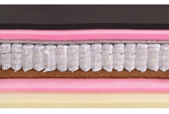 Luxusní matrace s visco pěnou Austin Air Visco Paměťová a studená pěna na ložné ploše přináší svalovou relaxaci a úlevu kloubům. Jádro MulitPocket