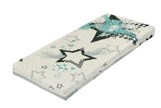 Potah na matraci je praktický a skvěle vypadá. Barevný potah si můžete přiobjednat vždy, když zatoužíte po změně.