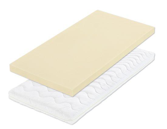 Matrace vyrobená z nově vyvinuté Flexifoam® pěny vyznačující se výbornou tvarovou stálostí a dlouhou životnosti
