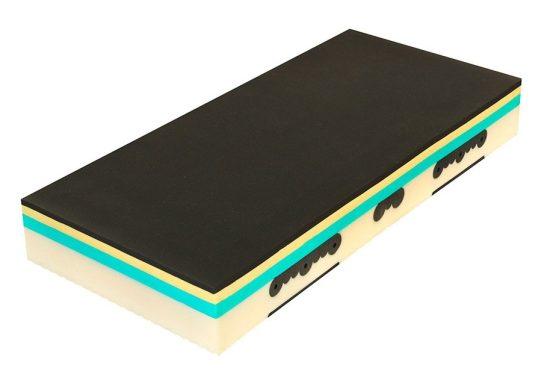 Matrace Spirit Superior Visco Luxusní pratelný potah s 3D ventilací a klimatizačními vrstvami dutého vlákna - termoregulace, hygiena.