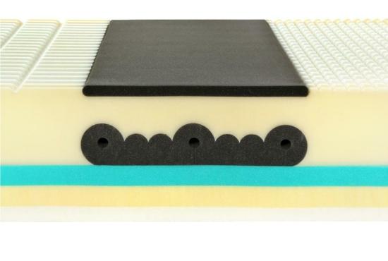Matrace Spirit Superior Visco. Luxusní ortopedické visco & latex matrace s volitelnou výškou 25 - 30 cm v akci 1+1 zdarma.