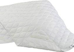 Matracový chránič určený k uložení přímo na matraci. Slouží k její ochraně před znečištěním a výrazně prodlužuje její životnost. V rozích jsou všité gumové pásky,